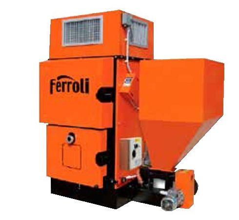 Generador de aire caliente a biomasa Ferroli BEMUS